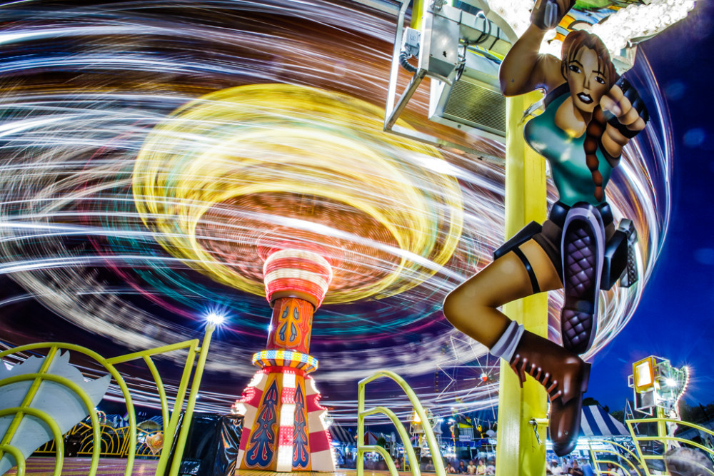 State Fair of Texas, USA.State Fair of Texas, USA.Carnival Rides, State Fair of Texas, USA.