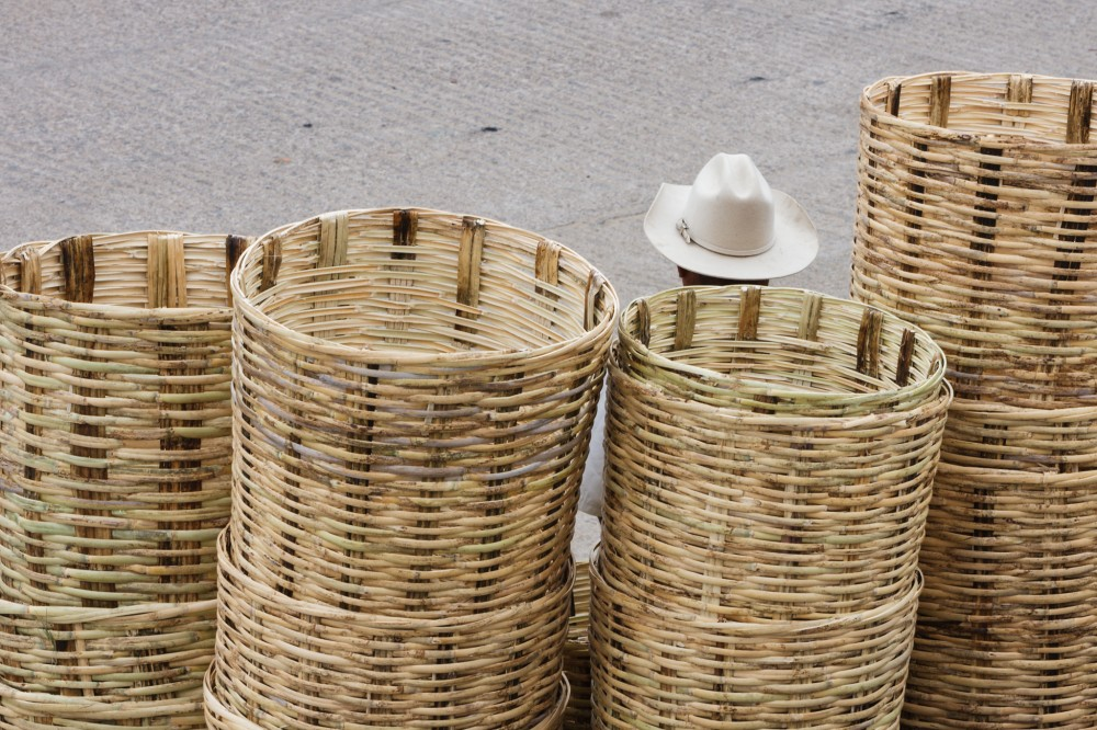 Hat and Baskets