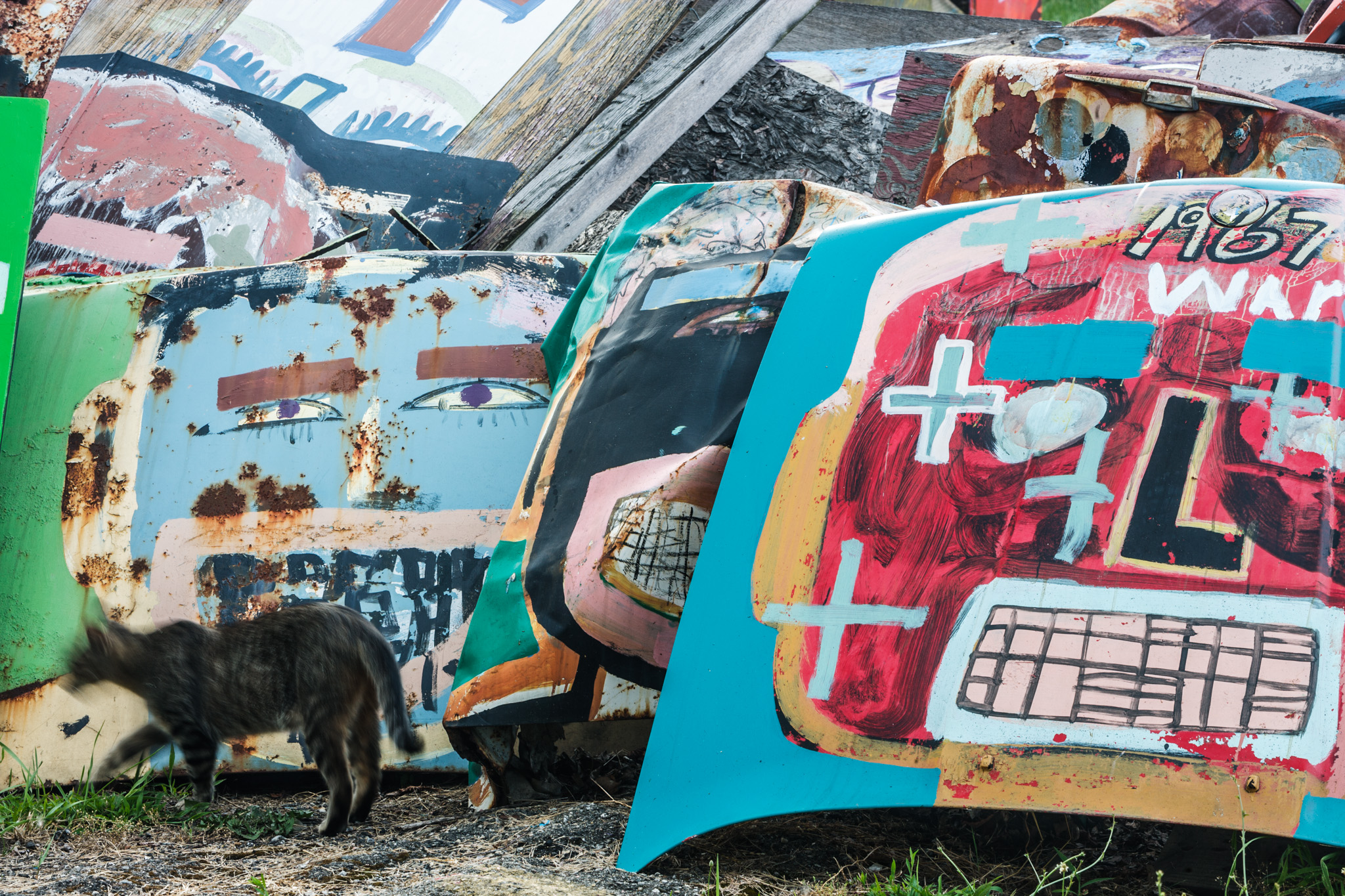 Heidelberg Project – (God, Country, War)