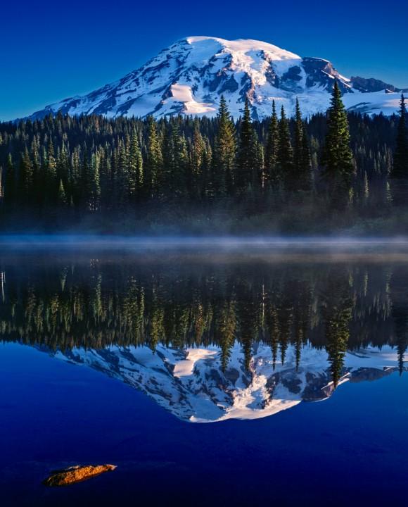 Mount Rainier Reflection,