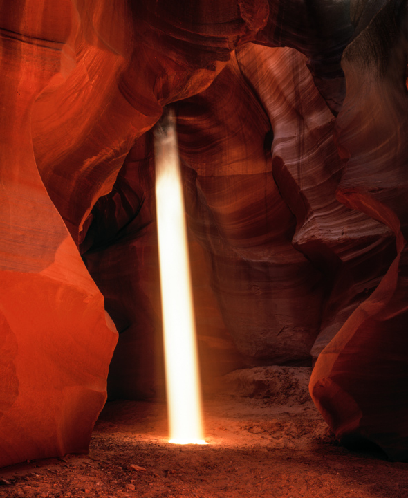 Lightbeam in Upper Antelope Canyon
