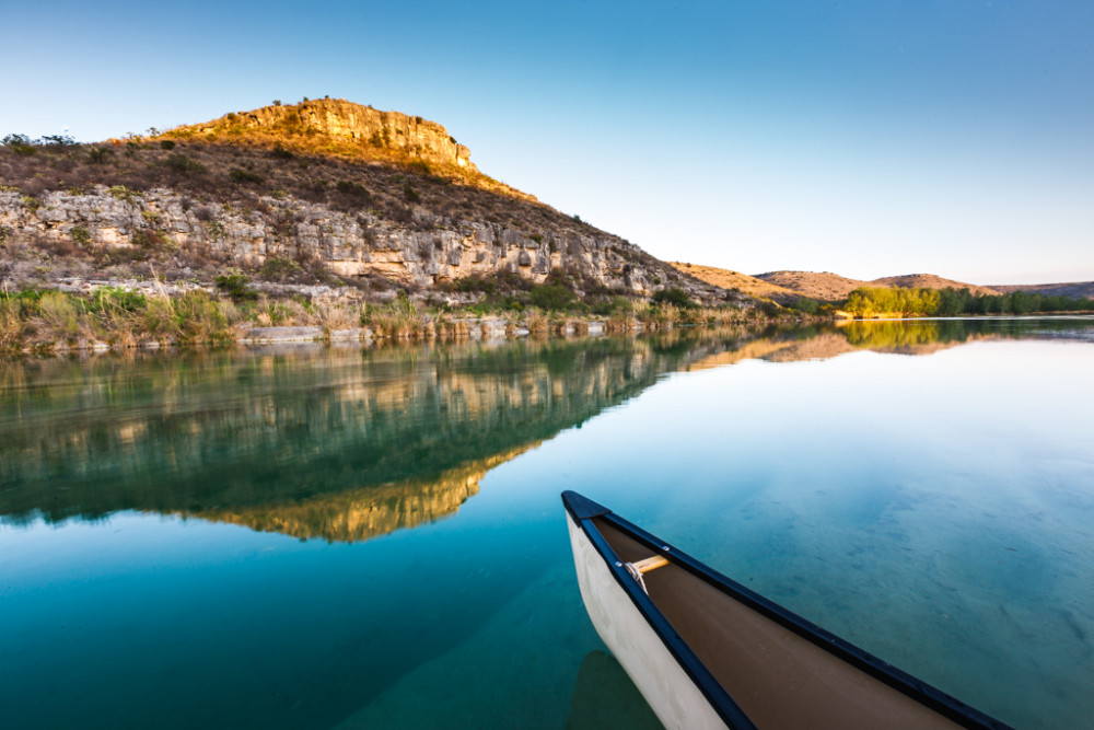 Devils River Canoe