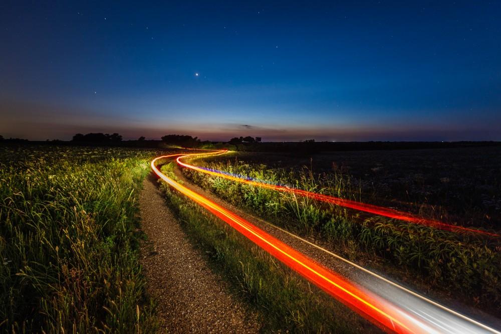 Prairie at Night