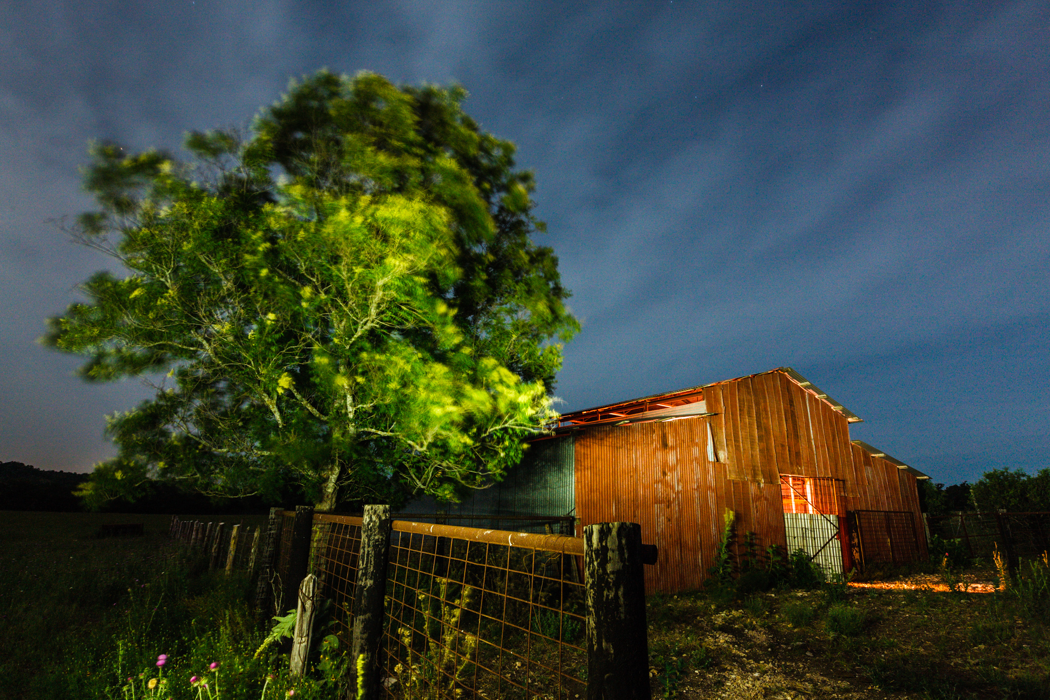 Hill Country Red Barn