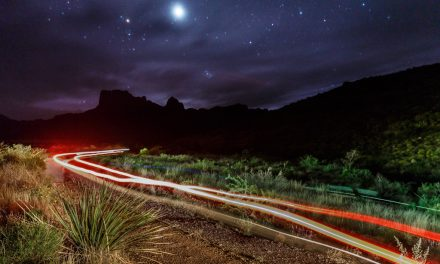 Night on the Chisos Mountains