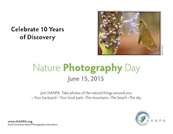 NANPA Nature Photography Day June 15