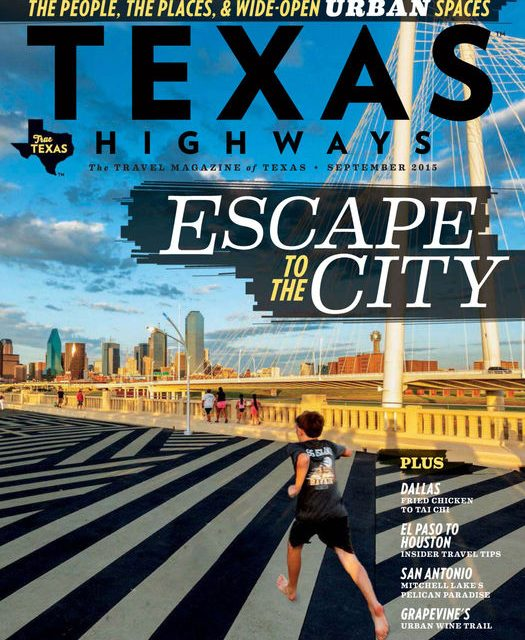 Texas Highways Cover