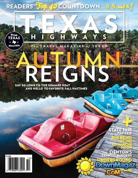Cover of Texas Highways October 2014