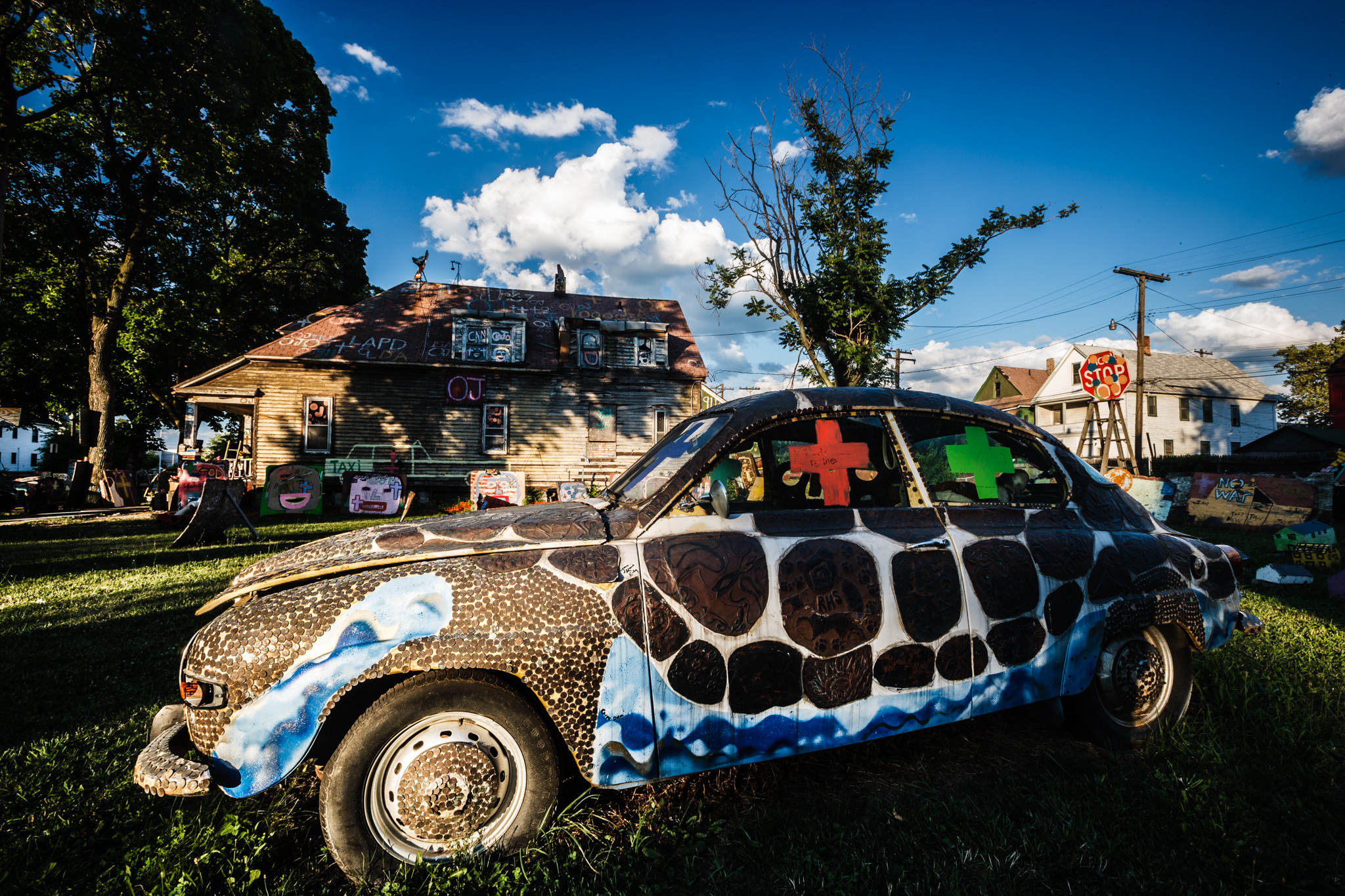 My Heidelberg Project Images Picked up in Australia