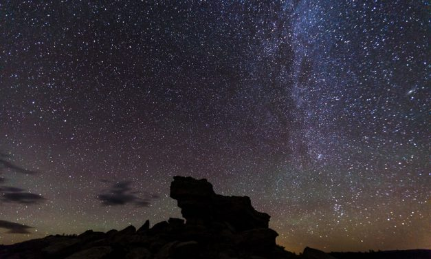 Milky Way and Castle Rock