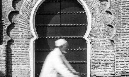 Biking Past the Doorway