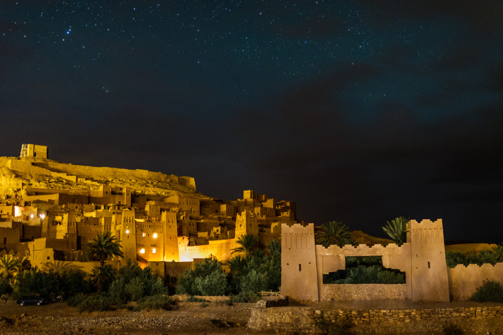 Night in Aït Benhaddou
