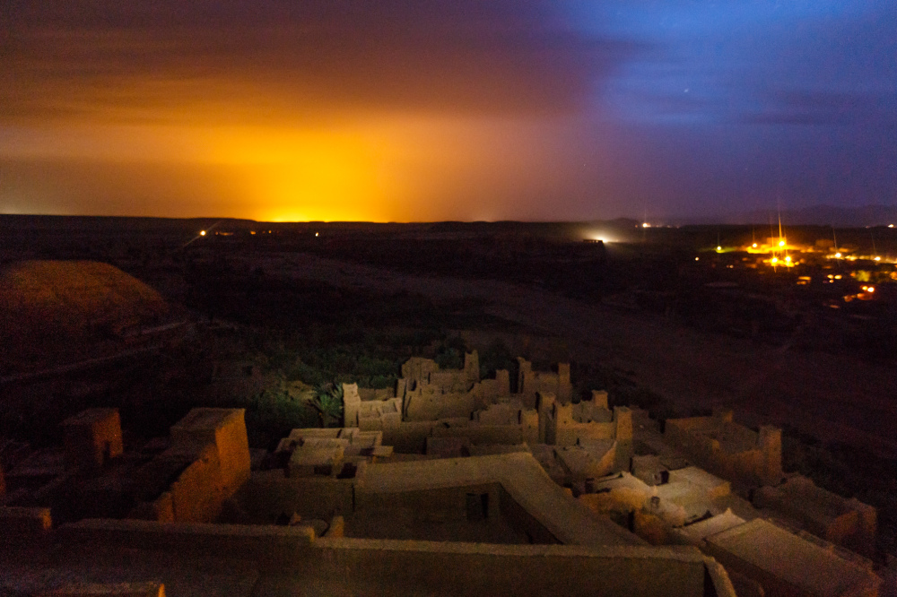 Night in Aït Benhaddou