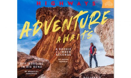 Texas Highways Cover Story – Hueco Tanks