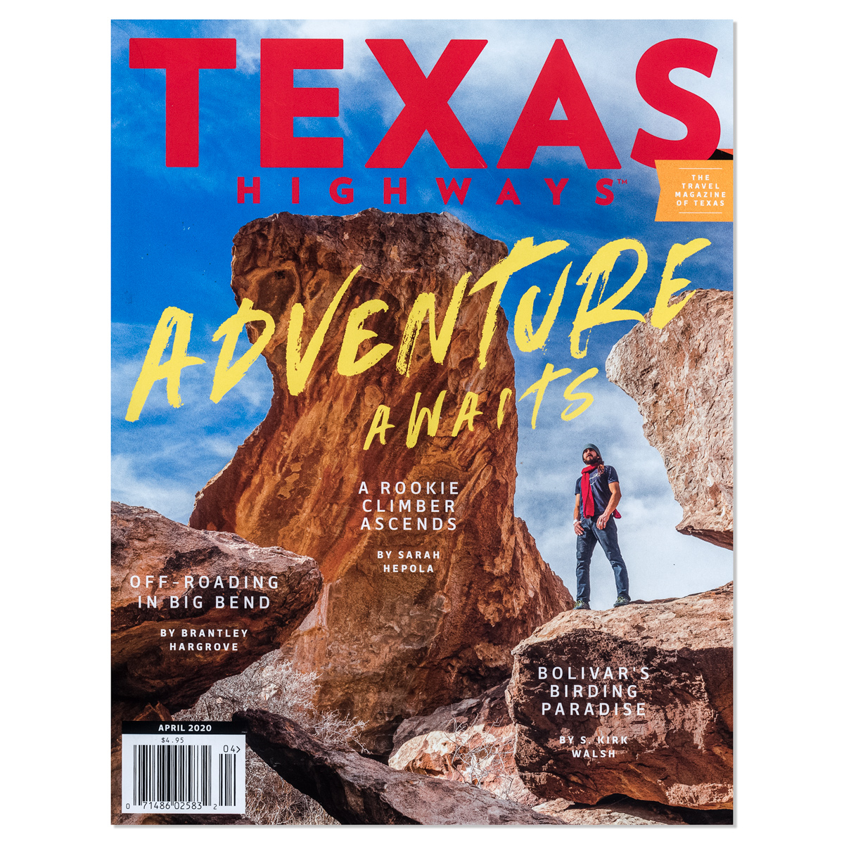 Texas Highways Cover Story - Hueco Tanks