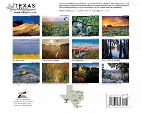 Texas Highways 2016 Wall Calendar