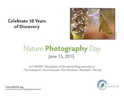 NANPA Nature Photography Day June 15